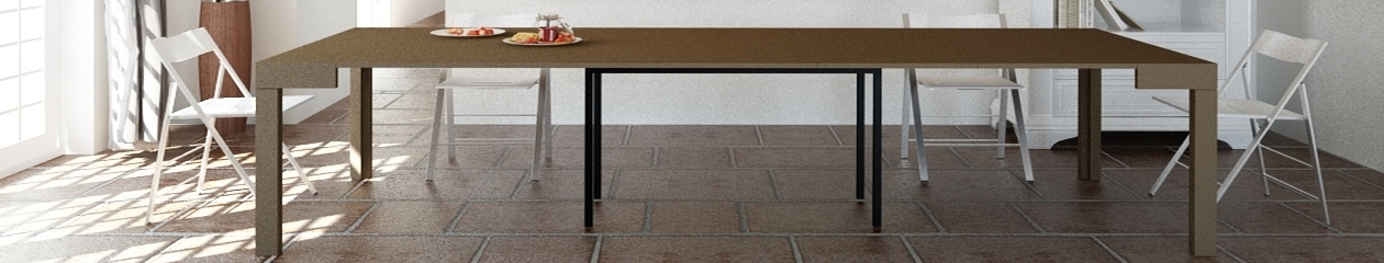 Table console extensible maya arredo creativo le - Table rallonge 20 personnes ...